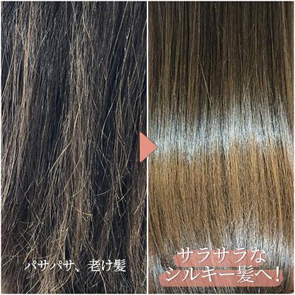 スペシャルな補修・保湿効果でうるツヤな美髪へと、導きます。